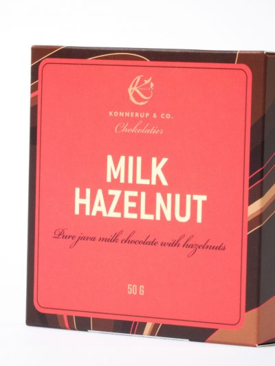 Altinus Vin Konnerup & Co chokolatier Milk Hazelnut