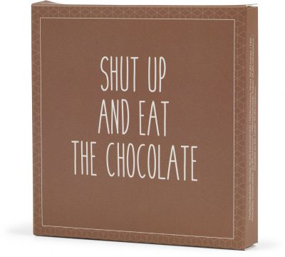 Altinus Vin Konnerup & Co chokolatier Shut up and eat the chocolate
